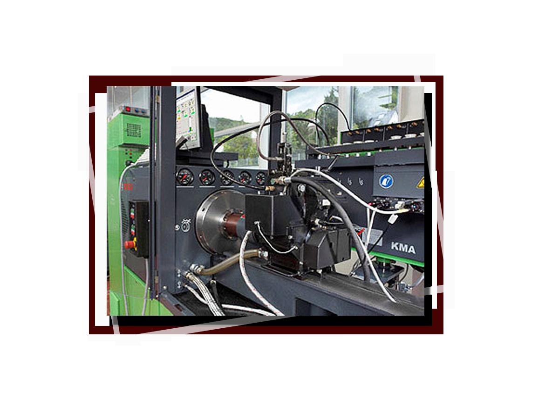 тестирование топливных систем дизелей
